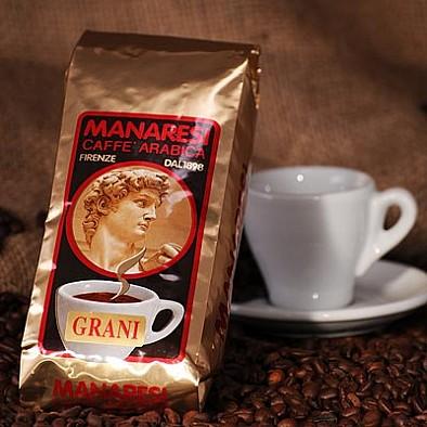 Manaresi Espresso Miscela Oro, zrnká