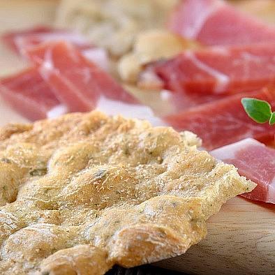 Originální jihotyrolské chlebové placky