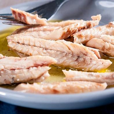 Filetti di sgombro all'olio di oliva