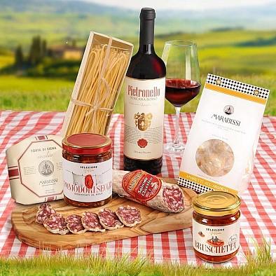 Italský dárkový set Corbello Rosso