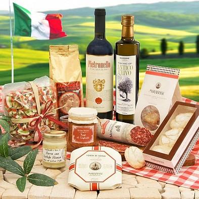 Objemný dárkový box Grande Corbello Gourmet Toskánsko