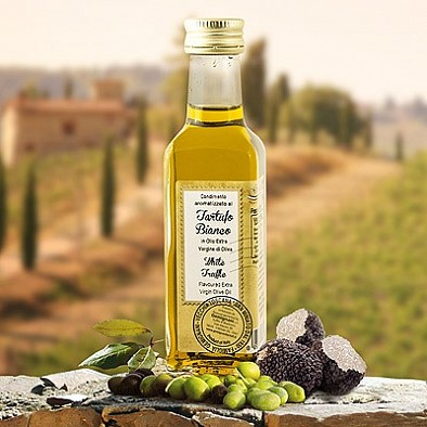 Lanýžový olej - Olivový olej s bílým lanýžem