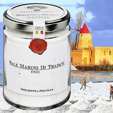 Jemná mořská sůl z Trapani