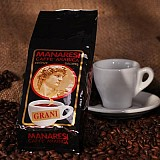 Manaresi Espresso Super Bar Brown zrnká 250g