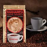 Manaressi Espresso Miscela Oro macinato 250g mletá
