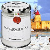 Hrubá mořská sůl z Trapani