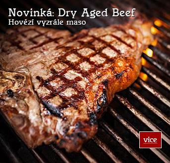 Dry Aged Beef - Hovězí vyzrále maso